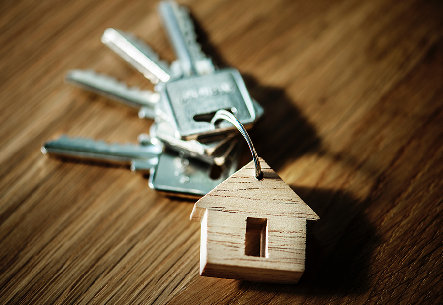 mortgages - house keyring | Integrity financial